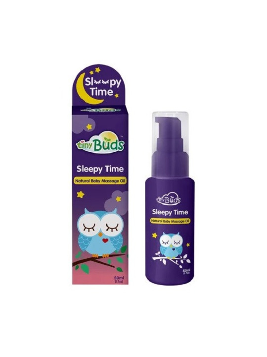 Tiny Buds Sleepy Time Natural Baby Massage Oil (50ml)
