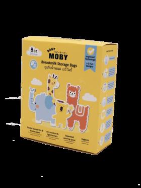 Baby Moby Breastmilk Storage Bags (8oz/250mL)