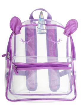 Stephen Joseph Unicorn Clear Backpack