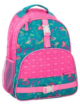 Stephen Joseph Mermaid All Over Print Backpack