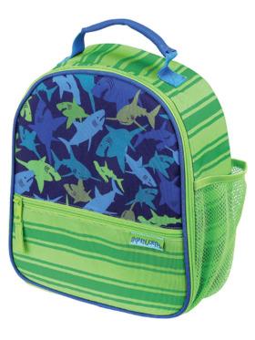 Stephen Joseph Shark All Over Print Lunch Bag
