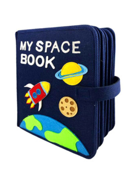 Kiddy Up My Space Book BusyBook
