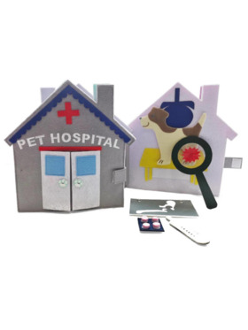Kiddy Up Pet Hospital BusyBook