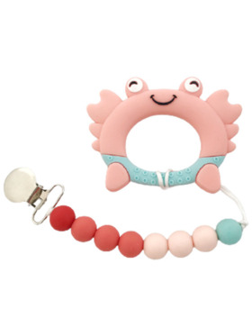Kiddy Up Crab Silicone Teether