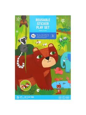 Joan Miro Reusable Sticker Play Set - Animal Place
