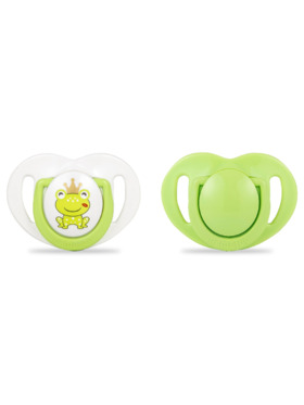 Mamajoo Silicone Orthodontic Soother 2 pcs (0M-6M)