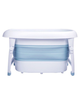 Knicknacks Collapsible Wash and Play Bathtub