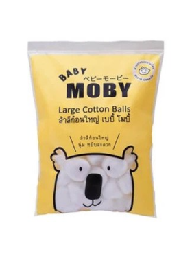 Baby Moby Large Cotton Balls (100g)