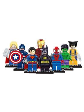Kiddy Up Superhero Mini Figures