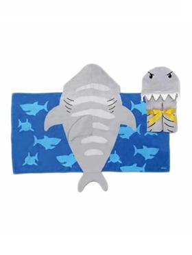 Stephen Joseph Shark Hooded Towel