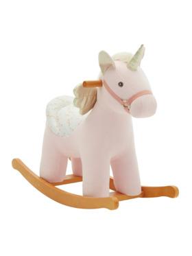 Bonjour Baby Labebe Wooden Rocker Unicorn