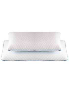 Linen & Homes Memory Foam Pillow with Cool Gel Layer (2-Pack)