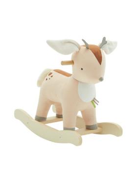 Bonjour Baby Labebe Wooden Rocker Deer