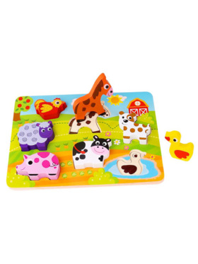 Tooky Toy Chunky Puzzle - Farm