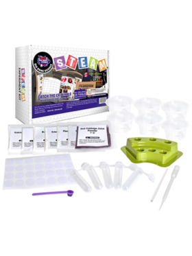 BIG BANG SCIENCE Catch The Criminals Steam Experiment Kit