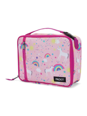 Packit Unicorn Sky Pink Classic Lunch Bag