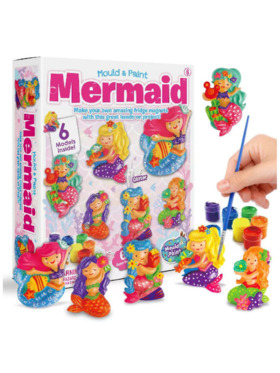Lil Bear Finds Mould and Paint Mermaid Kit