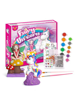 Lil Bear Finds Paint your Own Fairy and Unicorn Kit