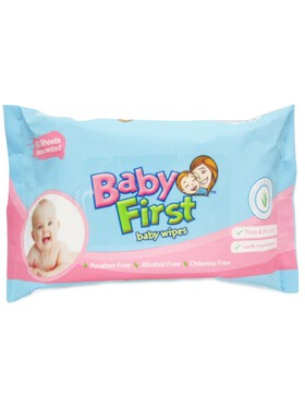 Baby First Baby Wipes (60 sheets)