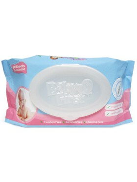 Baby First Baby Wipes (90 sheets)