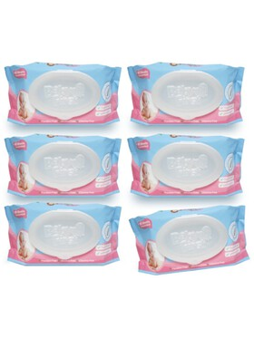 Baby First Baby Wipes Bundle of 6 (90 sheets)