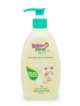 Baby First Natural Bath Wash (300ml)