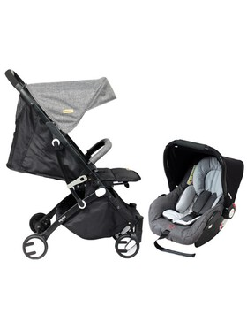 Looping Squizz 3 Stroller with Carseat (Travel System)
