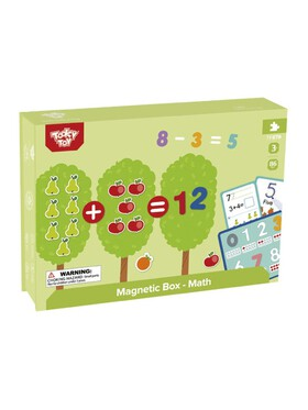 Tooky Toy Magnetic Box - Math