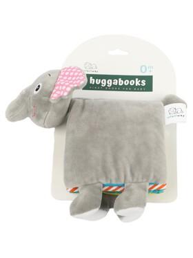 Infantway Huggabooks Elephant Plush Toy Cloth Book