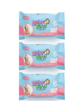 Baby First Baby Wipes 3-Pack (30s)