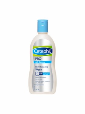 Cetaphil Pro Ad Derma Skin Restoring Wash (295ml)
