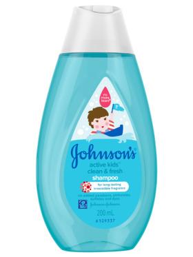 Johnson's Active Kids Clean & Fresh Shampoo (200ml)