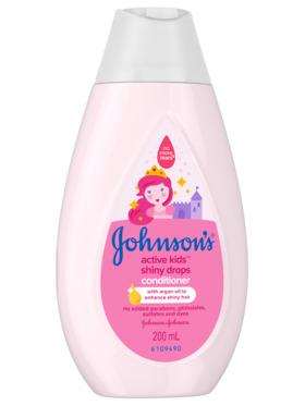 Johnson's Active Kids Shiny Drops Conditioner (200ml)