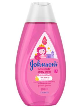 Johnson's Active Kids Shiny Drops Shampoo (200ml)