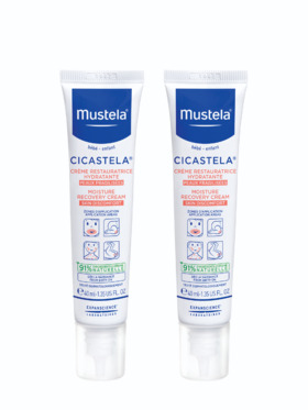 Mustela Cicastela Moisture Repair Cream (40ml) 2-pack