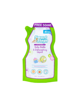 Smart Steps Baby Bottle and Dishwashing Liquid 350 + 50ml ( Refill)