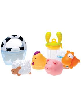 Kidsme Farm Animals Welcome Baby Gift Set