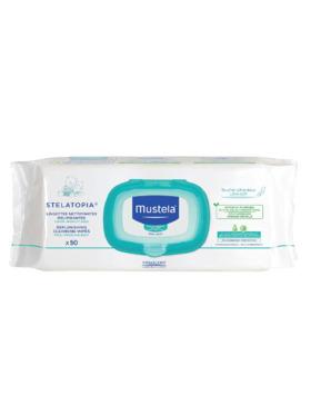 Mustela Stelatopia Replenishing Cleansing Wipes (50 sheets)