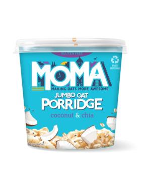 Moma Coconut & Chia Instant Porridge Pot (60g)