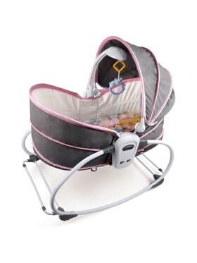 Bub à Petit 5-in-1 Portable Baby Rocking Bassinet