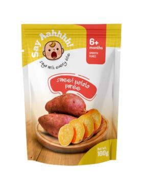 Say Aahhhh Sweet Potato Puree (100g)
