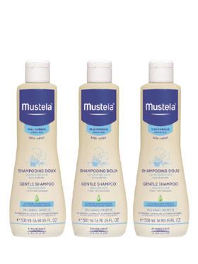 Mustela Gentle Shampoo (500ml)  3-pack