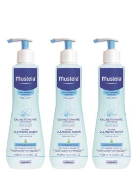 Mustela No Rinse Cleansing Water (300ml) 3-pack