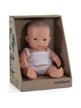 Miniland Dolls Baby Doll Asian Girl (21cm)