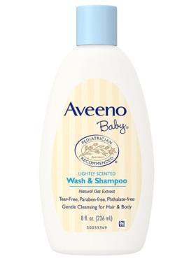 Aveeno Baby Daily Wash & Shampoo (236ml)