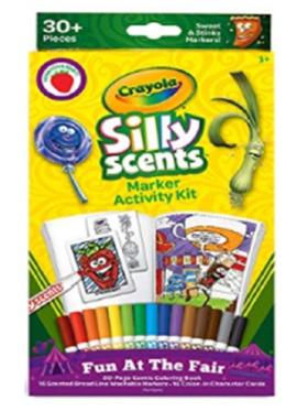 Crayola Silly Scents Marker Activity Kit