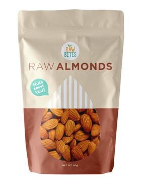Raw Bites Raw Almonds (60g)