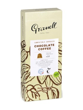 Granell Flavored Aromas Chocolate Nespresso Capsule Replacement Compostable