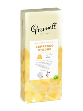 Granell Daily Blends Intense Espresso Nespresso Capsule Replacement Compostable