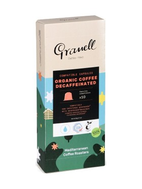 Granell Organic Daily Blend Espresso Decaf Nespresso Capsule Replacement Compostable